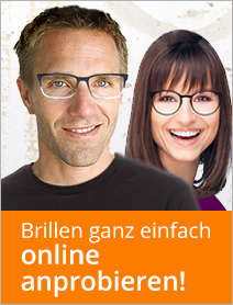Brillenanprobe - kein Problem!