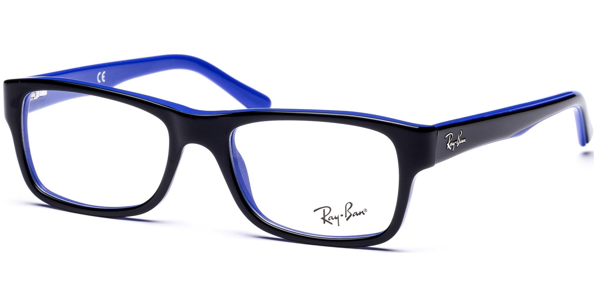 ray ban rx5268 5179 5017 top black on blue von netzoptiker. Black Bedroom Furniture Sets. Home Design Ideas