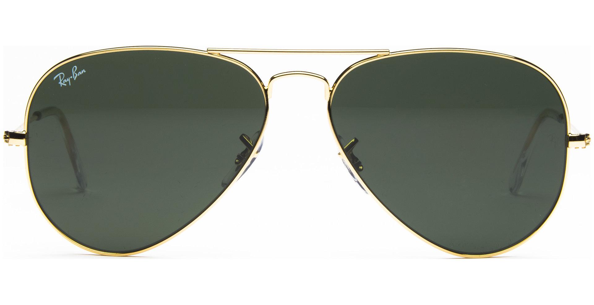 08d909c60e Ray-Ban - Aviator Large Metal RB3025 L0205 5814 Arista Crystal Green - von
