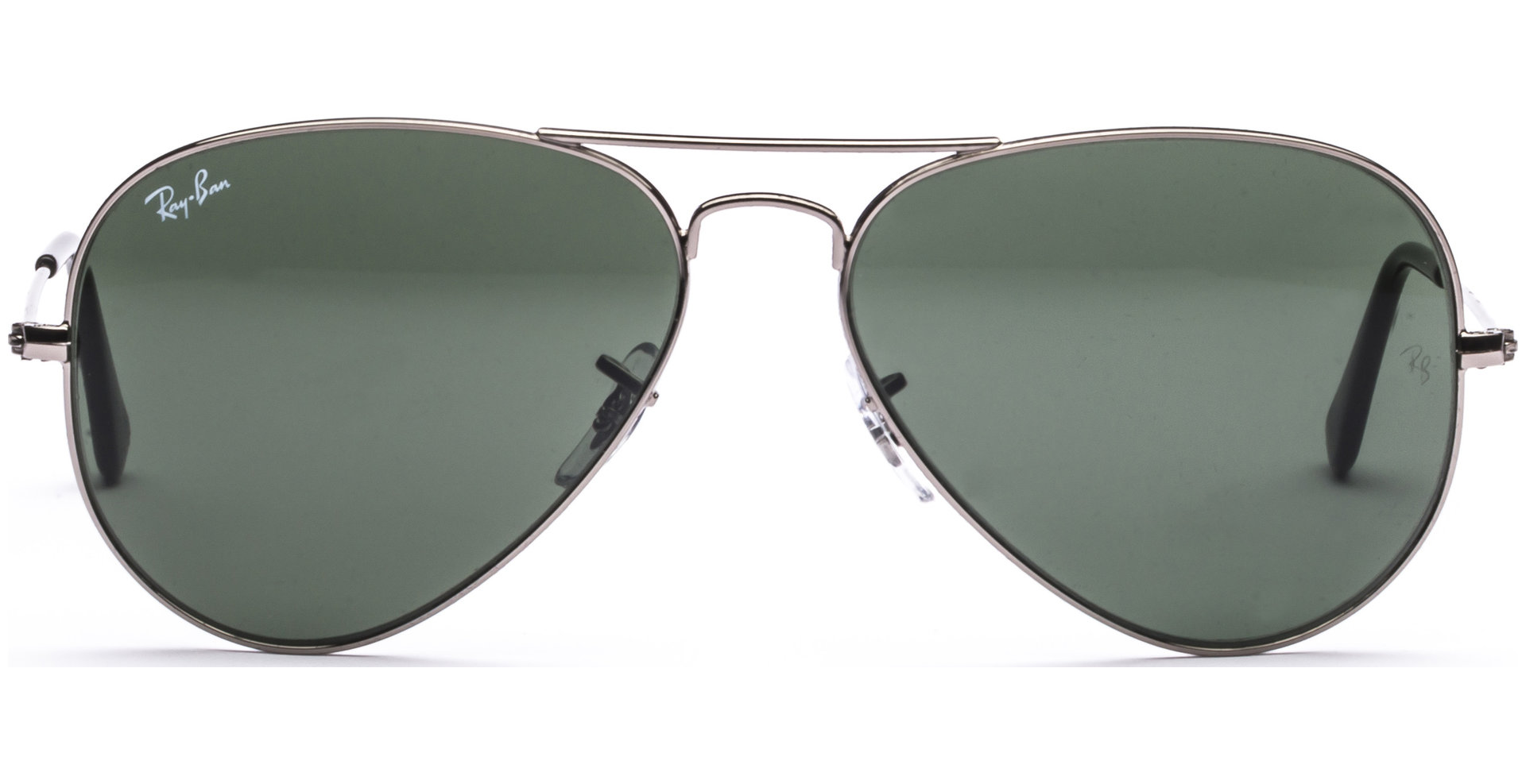 ray ban aviator metal rb3025  Ray-Ban - Aviator Large Metal RB3025 W0879 5814 Gunmetal/Crystal ...