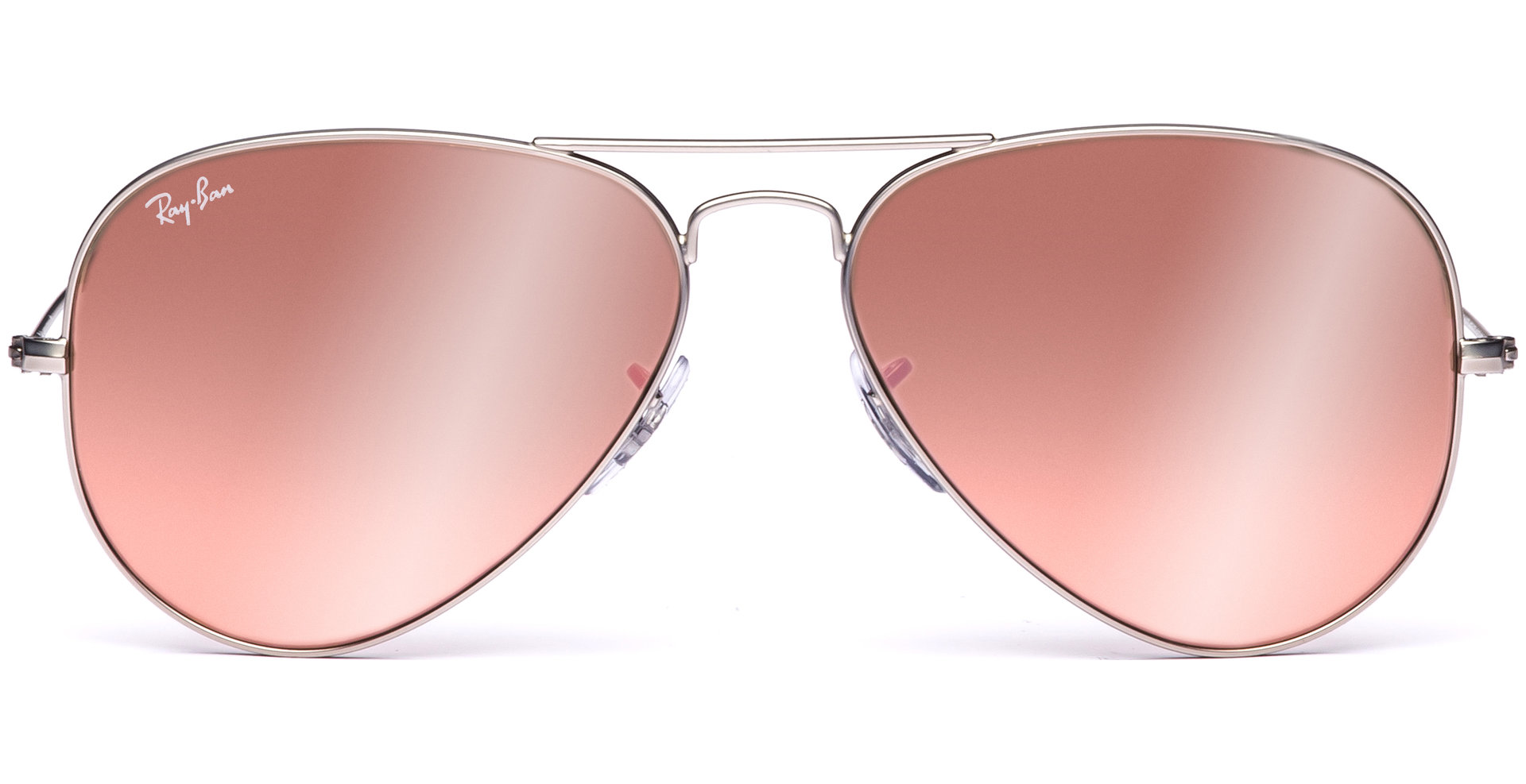 ray ban aviator metal rb3025  Ray-Ban - Aviator Large Metal RB3025 019/Z2 5814 Matte Silver ...