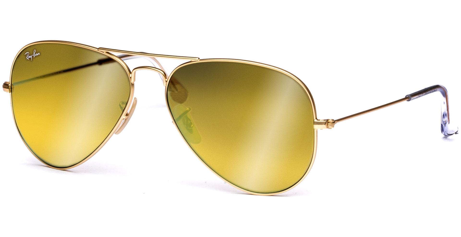 ray ban sonnenbrille gold verspiegelt