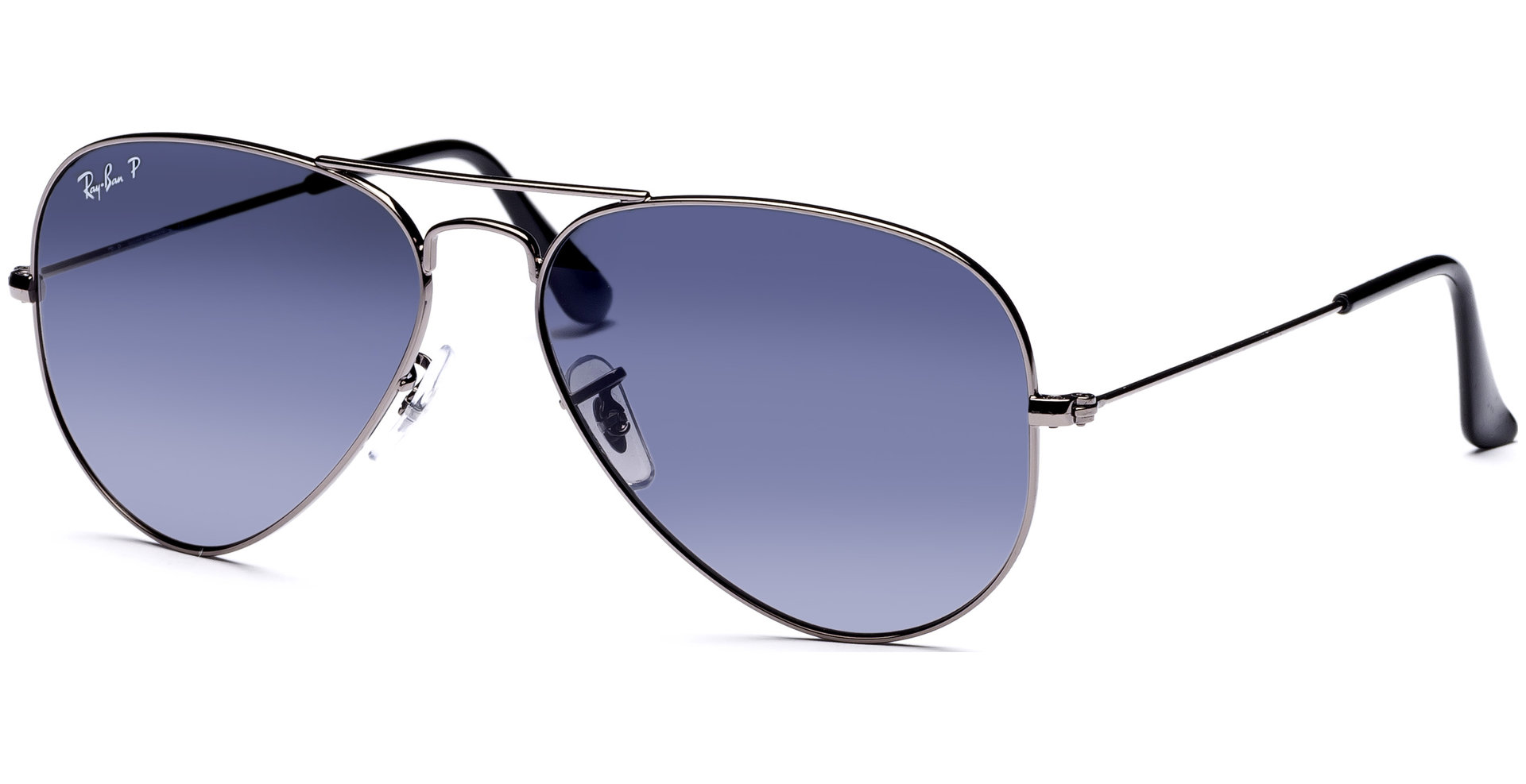 ray ban aviator metal rb3025  Ray-Ban - Aviator Large Metal RB3025 004/78 5814 Gunmetal/Cyl Pol ...