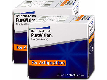 bausch lomb purevision for astigmatism 2x6 von. Black Bedroom Furniture Sets. Home Design Ideas