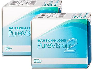 bausch lomb purevision 2 hd 2x6 von lensbest. Black Bedroom Furniture Sets. Home Design Ideas