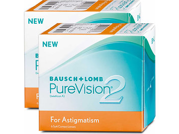 bausch lomb purevision 2 hd for astigmatism 2x6. Black Bedroom Furniture Sets. Home Design Ideas