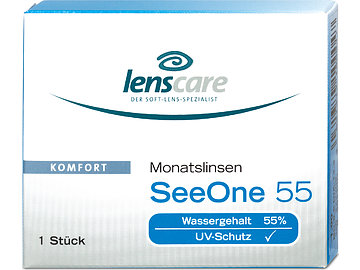 SeeOne 55 Monatslinsen (2x1) von Lenscare