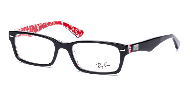 33ed895320 Ray Ban Rx5206 Black On Red 2479