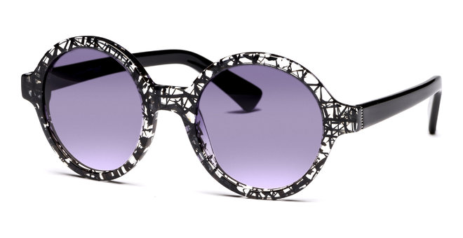 Azulai 4921 schwarz/transparent von Lennox Eyewear