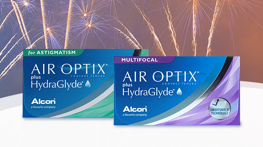 Air Optix Hydraglyde nun auch in torisch und multifocal
