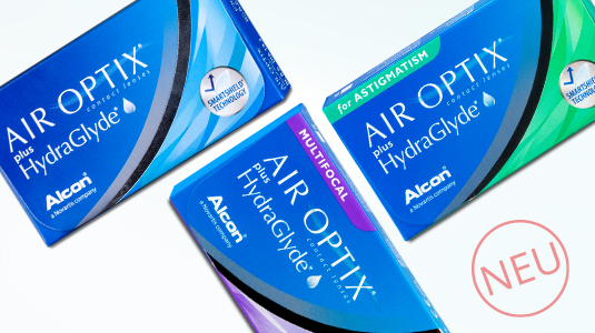Air Optix plus HydraGlyde Familie