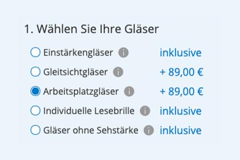 7423e60c3080b7 Arbeitsplatzbrillen günstig online bestellen | Lensbest
